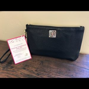 Liz Claiborne Wristlet with Built in Phone Charger